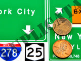 New York City Highway Signs - 1/35 Scale - Duplicata Productions