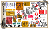 Copy of Israeli Road Signs - 1/72 Scale - Duplicata Productions