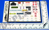Italian Shop Signs, Street Names/Numbers & Traffic Signs - WW2 - 1/72 Scale