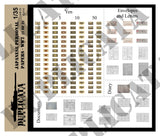 Japanese Personal Papers - WW2 - 1/35 Scale (2 sheets) - Duplicata Productions