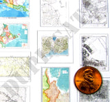 Japanese Maps & Aeronautical Charts -  WW2 - 1/32 Scale - Duplicata Productions