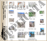 Allied Maps - Central Normandy, France #1 - WW2 - 1/72 Scale - Duplicata Productions