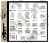 Allied Maps, Russia - WW2 - 1/72 Scale - Duplicata Productions