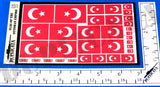 Flag of the Ottoman Empire - 1/72, 1/48, 1/35, 1/32 Scales - Duplicata Productions