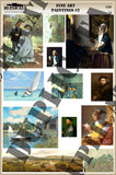 Fine Art Paintings #2 - 1/24 Scale - Duplicata Productions
