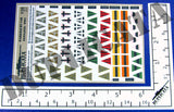 German Wehrmacht Staff Car Pennants, WW2 - 1/35 Scale - Duplicata Productions