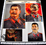 Large Soviet Stalin Portraits, WW2 - 1/35 Scale - Duplicata Productions