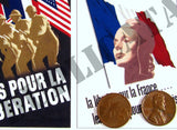 Free French WW2 Propaganda Posters, Large #2- 1/35 Scale - Duplicata Productions