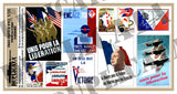 Free French WW2 Propaganda Posters, Various Sizes - 1/35 Scale - Duplicata Productions