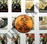 German WW2 Propaganda Posters - 1/72 Scale - Duplicata Productions