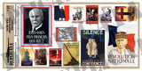 Vichy France WW2 Propaganda Posters, Various Sizes - 1/35 Scale - Duplicata Productions