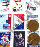 Free French WW2 Propaganda Posters, Small - 1/35 Scale - Duplicata Productions