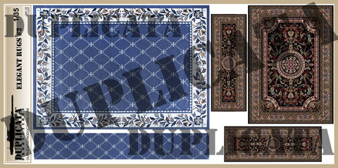 Elegant Rugs #2 - 1/35 Scale - Duplicata Productions