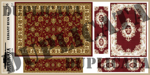 Elegant Rugs #4 - 1/35 Scale - Duplicata Productions