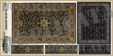 Elegant Rugs #5 - 1/35 Scale - Duplicata Productions