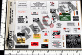 Allied Road Signs, Italy -  WW2 - 1/72 Scale - Duplicata Productions