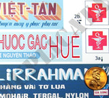 Store Signs, Hue City - Vietnam War - 1/35 Scale - Duplicata Productions