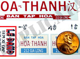 Store Signs, Hue City - Vietnam War - 1/35 Scale (2 sheets) - Duplicata Productions
