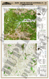 Maps - Vietnam War - South Vietnam (Central) #1 - 1/6 Scale - Duplicata Productions
