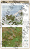 Maps - Vietnam War - South Vietnam (North/DMZ) #2 - 1/6 Scale - Duplicata Productions
