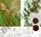 Maps - Vietnam War - South Vietnam (Central) #2 - 1/6 Scale - Duplicata Productions