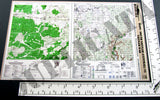 Maps - Vietnam War - South Vietnam (Central) #5 - 1/6 Scale - Duplicata Productions