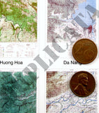 Maps - Vietnam War - South Vietnam (North/DMZ) #1 - 1/16 (120mm) Scale - Duplicata Productions