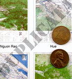 Maps - Vietnam War - South Vietnam (North/DMZ) #2 - 1/16 (120mm) Scale - Duplicata Productions