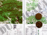 Maps - Vietnam War - South Vietnam (North/DMZ) #5 - 1/6 Scale - Duplicata Productions