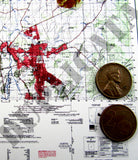 Maps - Vietnam War - South Vietnam (South/Mekong) #4 - 1/6 Scale - Duplicata Productions