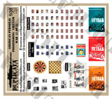 American Personal Papers/Possessions - Vietnam War - 1/35 Scale (2 Sheets) - Duplicata Productions