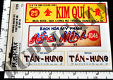 Store Signs - Vietnam War - 1/35 Scale (2 sheets)