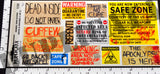 Zombie Apocalypse Signs and Posters - 1/35 Scale (2 sheets) - Duplicata Productions