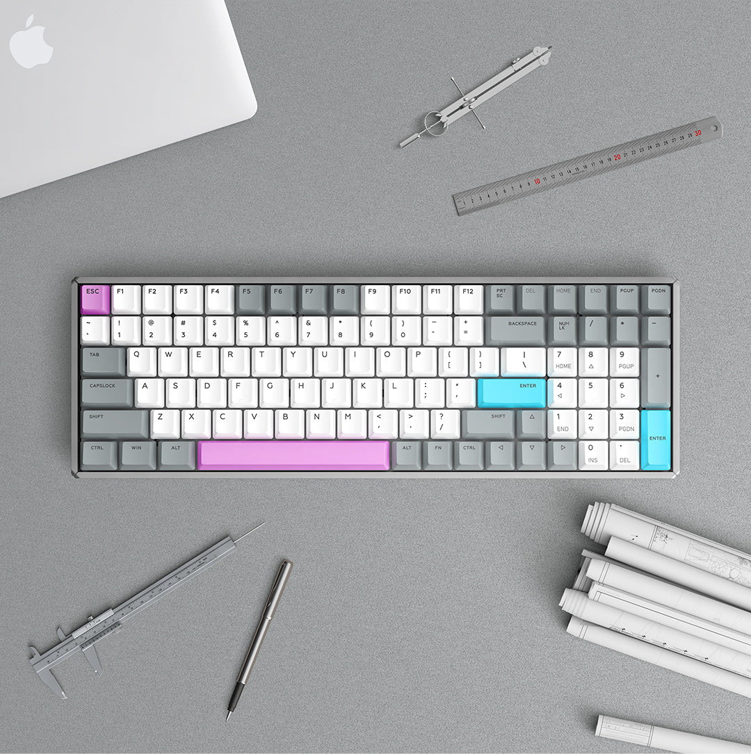 96 Keyboard - Cyber Space Wireless Mechanical Keyboard | iQUNIX