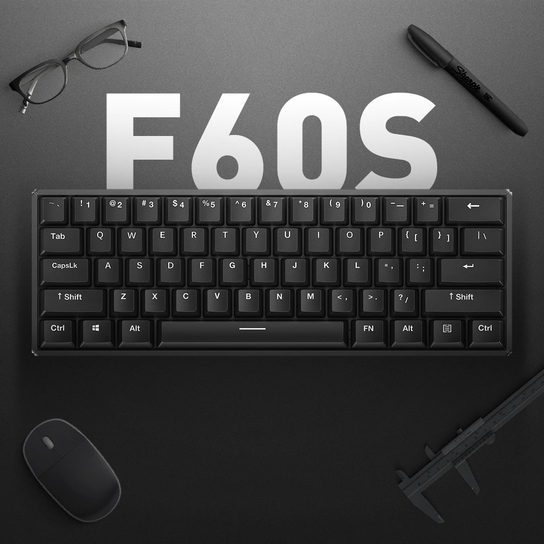 60 Keyboard - F60S Bluetooth Mechanical Keyboard | IQUNIX