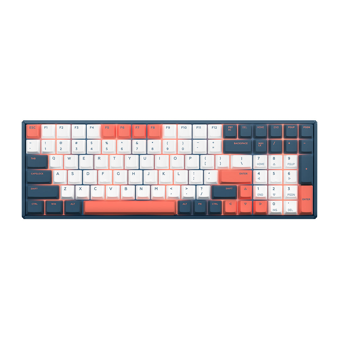 F96 Coral Sea Keyboard - Best Wireless Mechanical Keyboard | IQUNIX