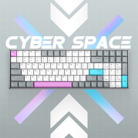 F96 Cyber Space Wireless Mechanical Keyboard