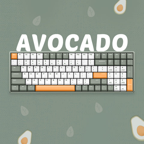 F96 Avocado Wireless Mechanical Keyboard
