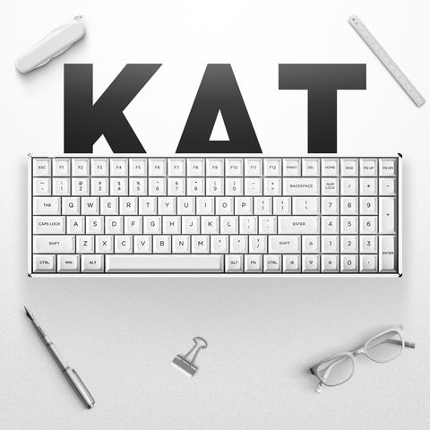 F96 KAT Wireless Mechanical Keyboard