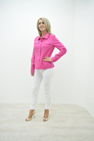 Robell Magenta Happy Jacket - 57609 5499 143
