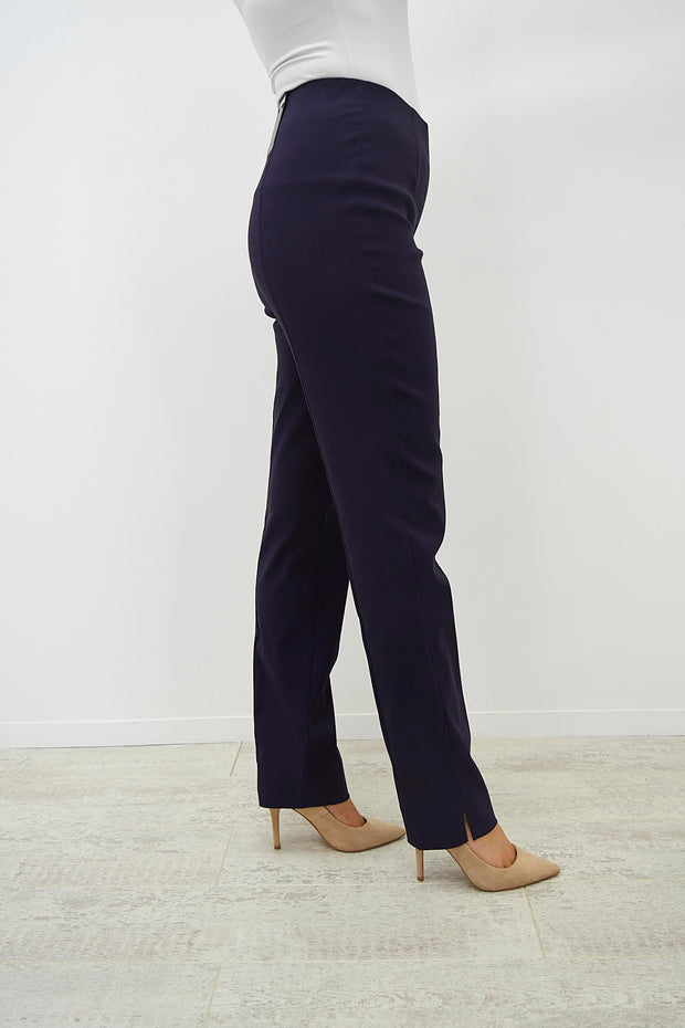 Robell Marie Aubergine Trousers - 51412 5499 581