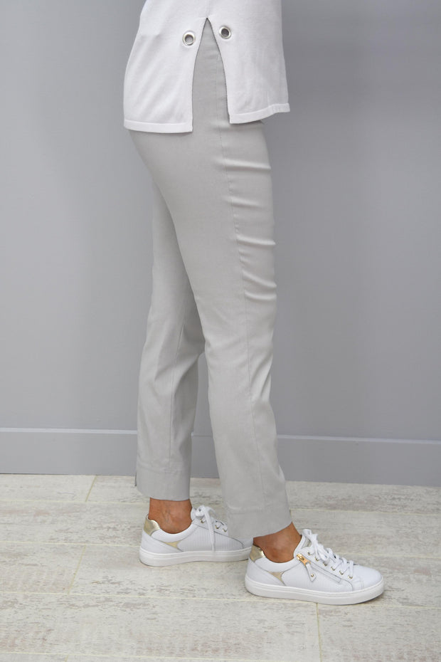 Robell Rose 09 Silver Grey Trousers - 51527 5499 92