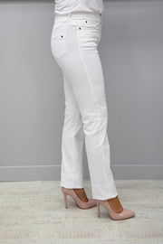 CRO Magic Fit Straight Jeans, White - 5525 525 100