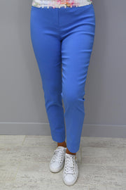 Robell Rose 09 Trousers Cornflower Blue - 51527 5499 600