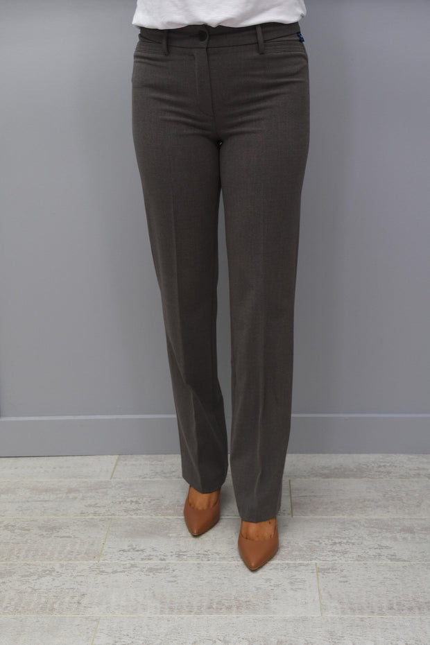Robell Sissi Trousers Dark Taupe 1118 - 51504 5405
