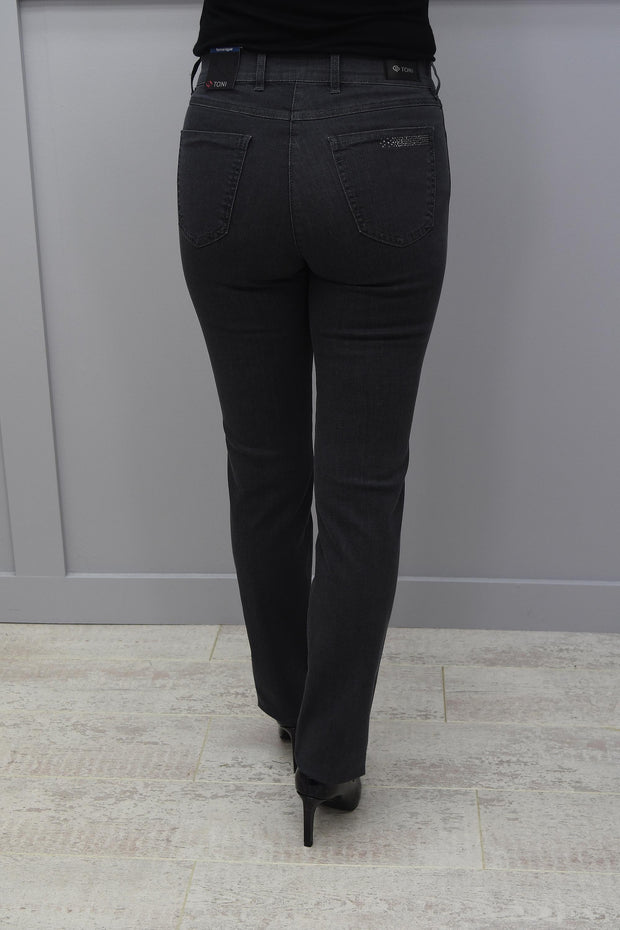 Toni Be Loved High Rise Slim Leg Grey Jeans - 1125