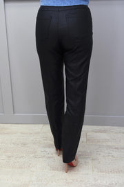 Robell Bella faux Leather Full Length Trousers - 51559 54344 69