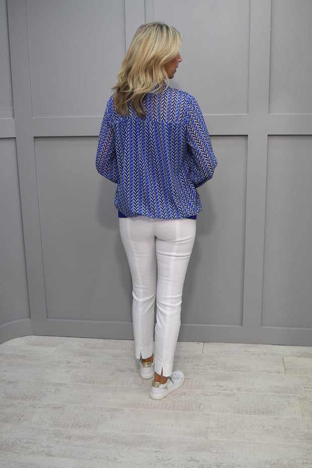 Le Babe Nappa Gold Court Shoe - 4001 Gold