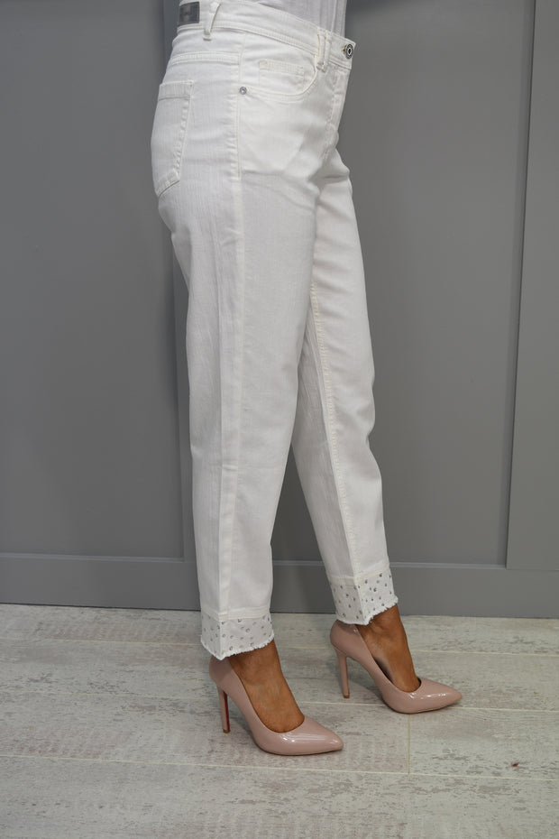 Via Veneto Plain Navy Mid V Dress - V3602