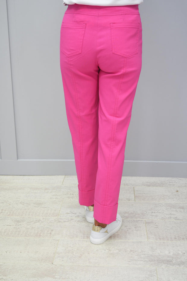 Robell Bella Candy Pink Trousers - 51568 5499 431